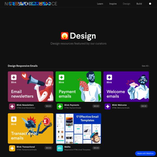 Design Templates & Resources | Nice, Very Nice