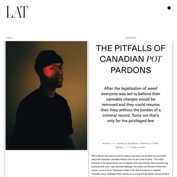 The Pitfalls of Canadian Pot Pardons - Latitude