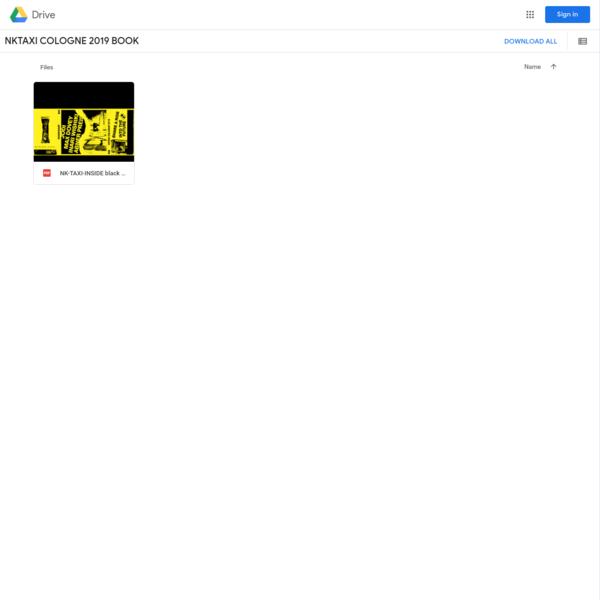 NKTAXI COLOGNE 2019 BOOK - Google Drive