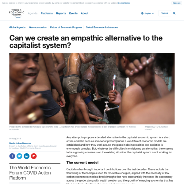 Empathy can create a new economic system