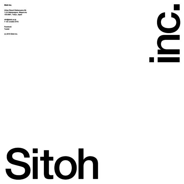 Sitoh inc.はグラフィックデザインを軸に、人・企業・社会・文化を繋ぎ、 デザインコンサルティングの観点からコミュニケーションを設計するデザイン事務所です。