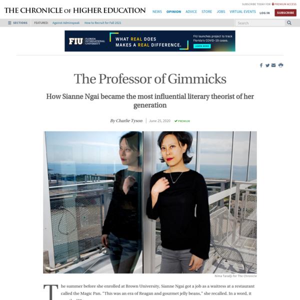 The Professor of Gimmicks