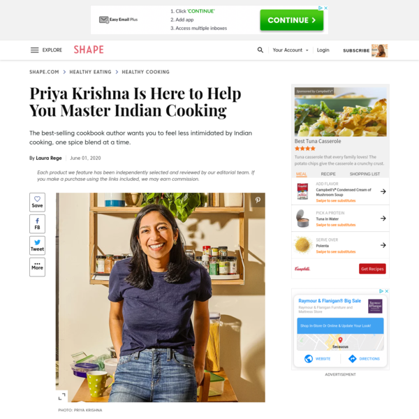 Priya Krishna Is Here to Help You Master Indian Cooking