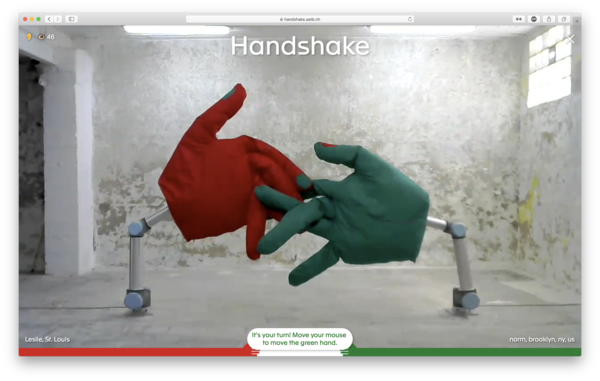 Handshake by AATB