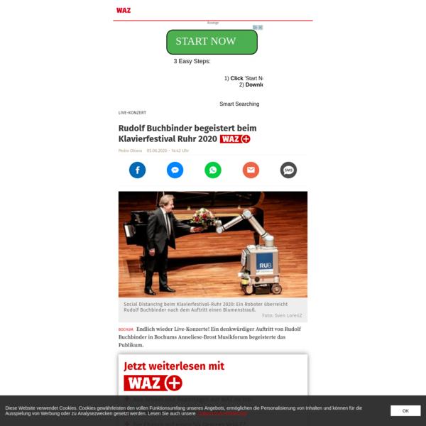 Rudolf Buchbinder begeistert beim Klavierfestival Ruhr 2020