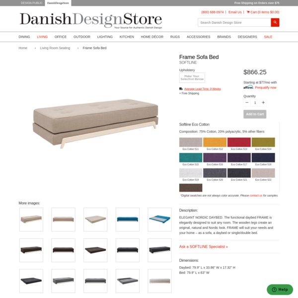 Frame Sofa Bed