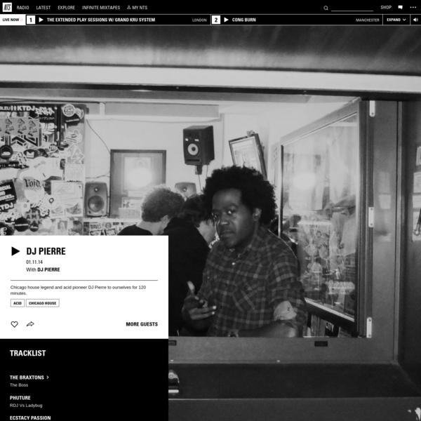 DJ Pierre 1st November 2014