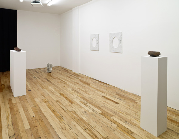 Partially Buried, Installation view, 2012
