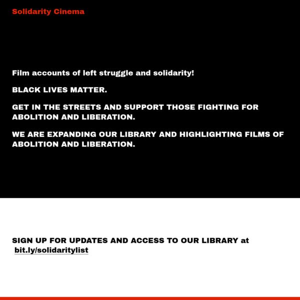 Solidarity Cinema