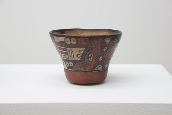 2012.06 Partially Buried, Pre-Columbian Peruvian Nazca Culture