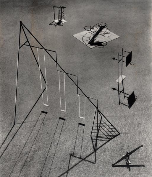 Playground equipment for Ala Moana Park in Honolulu, Hawaii, 1939