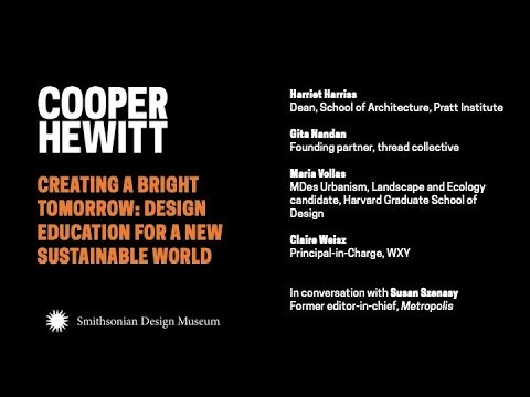 Creating a Bright Tomorrow: Design Education for a New Sustainable World