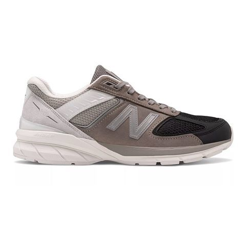 """@newbalance is back with a new iteration of the Made in US 990v5 in a creamy tri-toned greyscale colorway - """"Black/Marblehea..."""