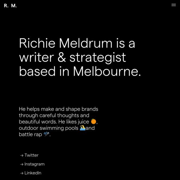 Richie Meldrum