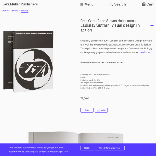 Ladislav Sutnar : visual design in action
