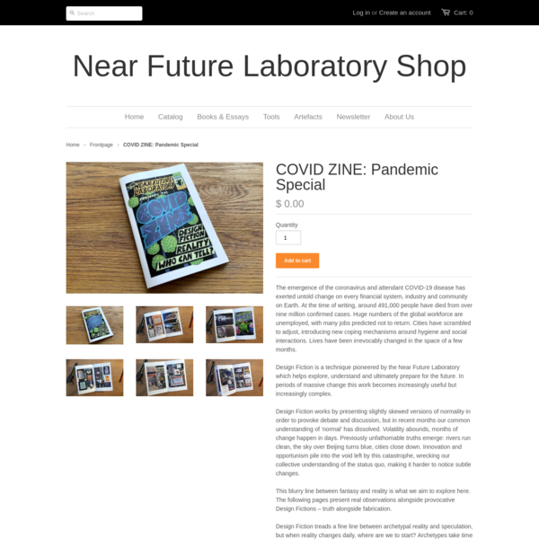 COVID ZINE: Pandemic Special