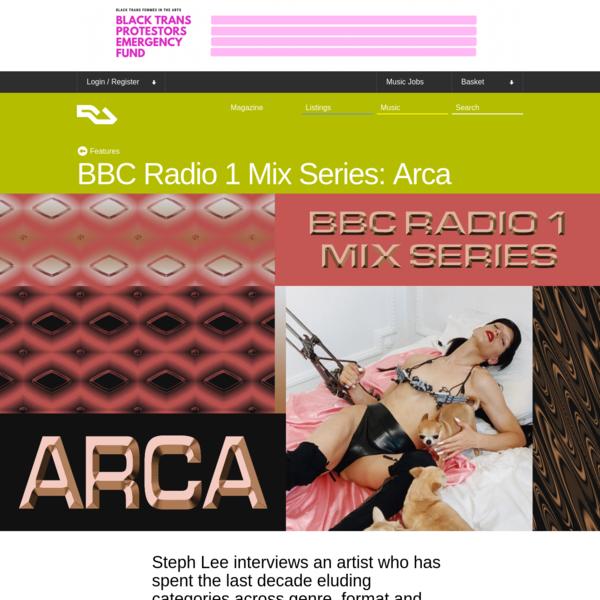 BBC Radio 1 Mix Series: Arca