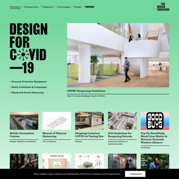 The COVID-19 Design Directory
