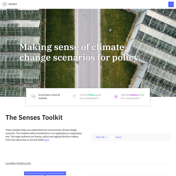 Senses Toolkit