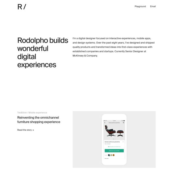 Rodolpho Henrique - Digital Designer
