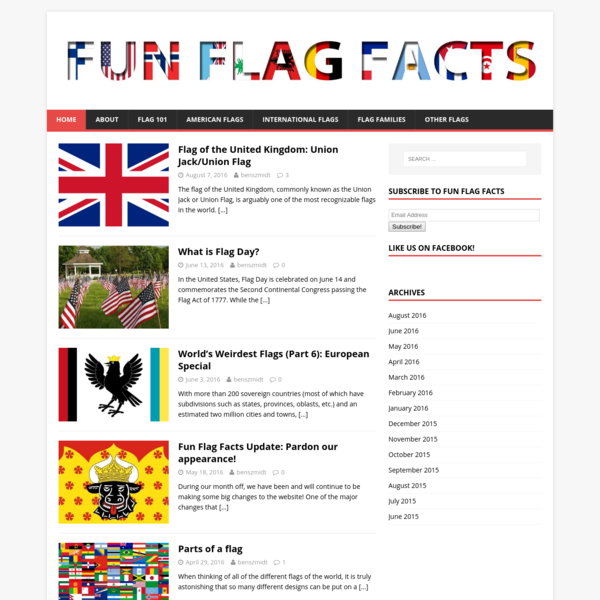 Fun Flag Facts - Your go-to source for flag facts.