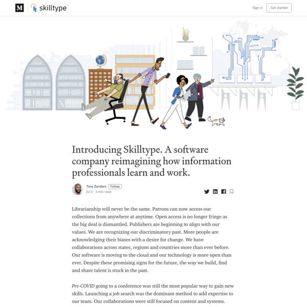 Introducing Skilltype