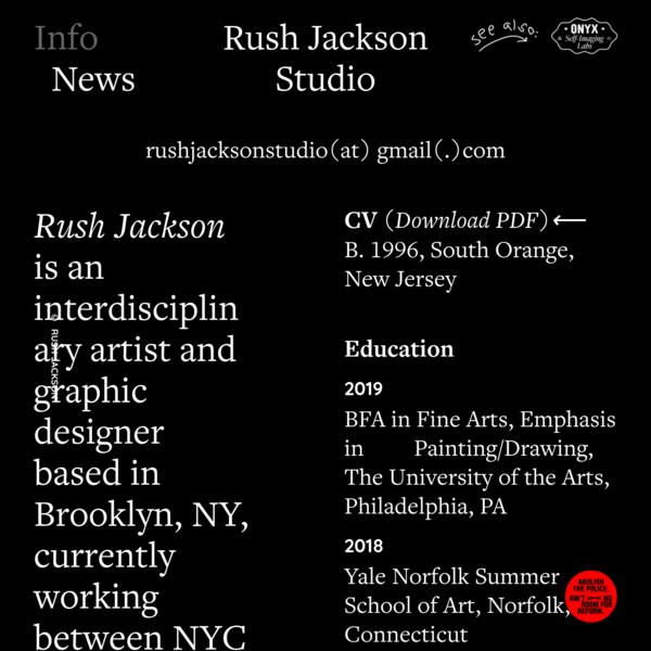 Info - Rush Jackson Studio