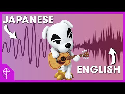 Animal Crossing's fake language is different in Japan, and here's why