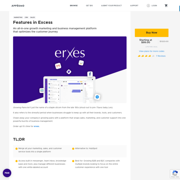 Erxes | Exclusive Offer from AppSumo