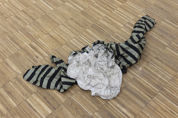 Anna-Sophie Berger, Concrete Coat (stripes), 2016