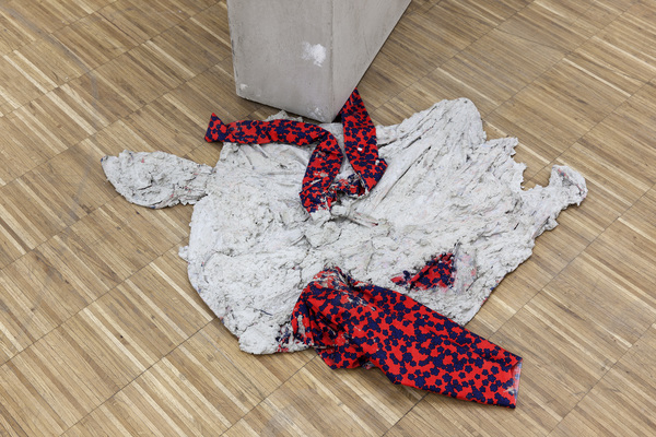 Concrete Coat (Kimono), 2016