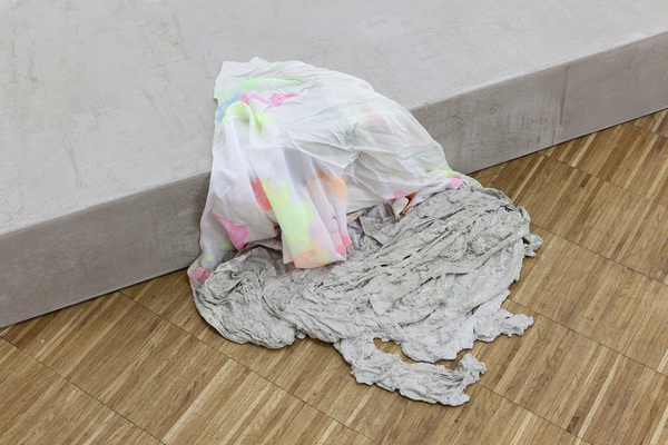 Anna-Sophie Berger, Concrete Coat (camouflage), 2016