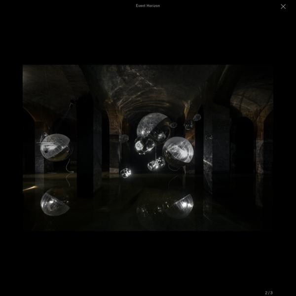 Event Horizon · STUDIO TOMÁS SARACENO