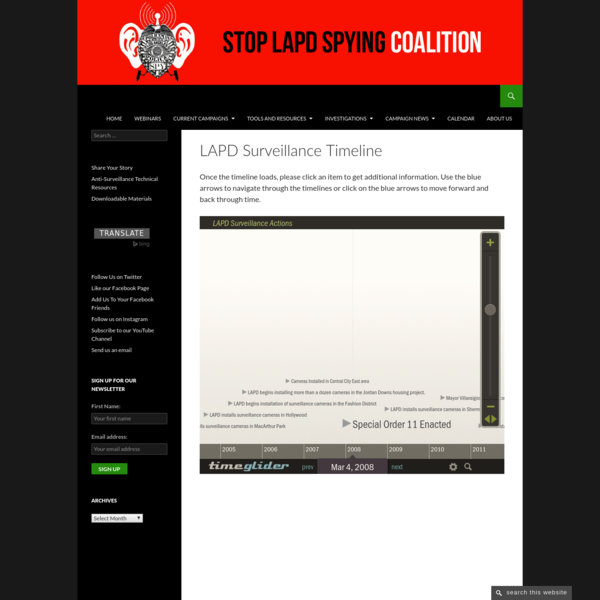 Stop LAPD Spying Coalition
