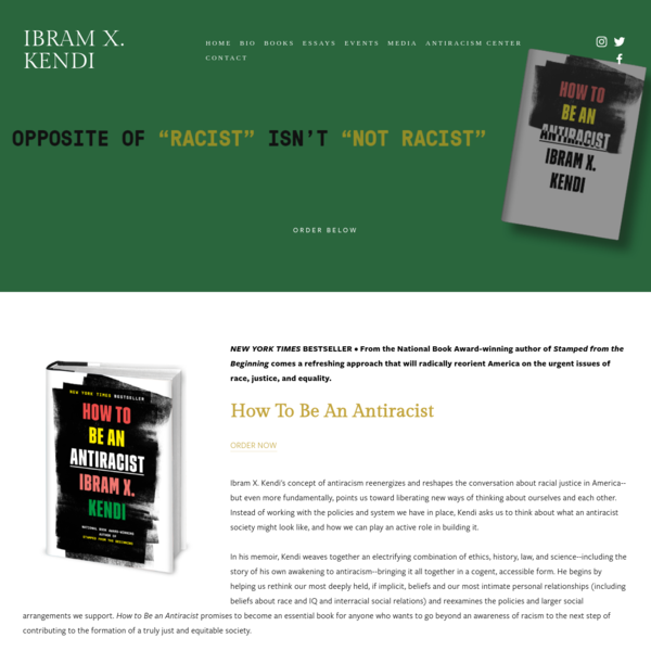 How To Be An Antiracist - Ibram X. Kendi