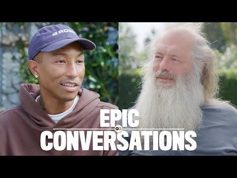 Pharrell and Rick Rubin Have an Epic Conversation   GQ