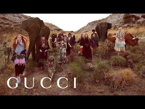 Gucci Cruise 2019 campaign: Gucci Gothic