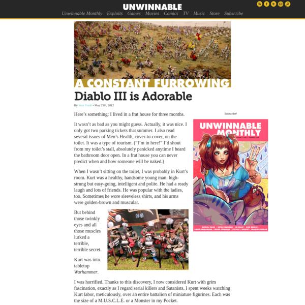 Diablo III is Adorable