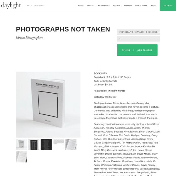 Photographs Not Taken
