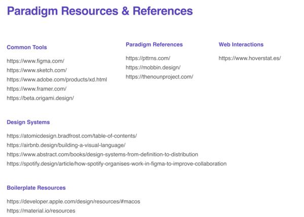 Design Resources From Steven Ziadie