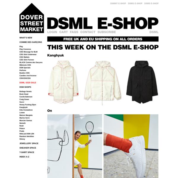 Dover Street Market E-SHOP