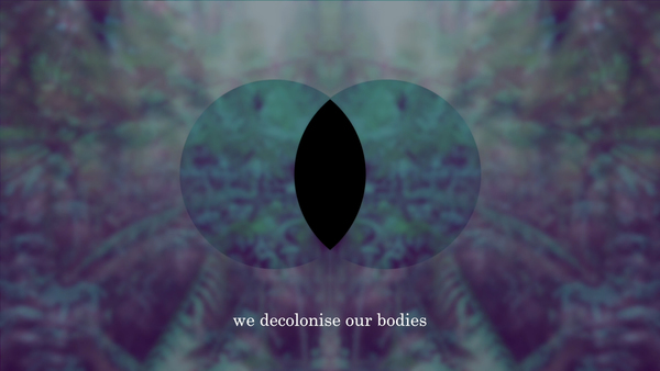 Decolonist Meditation I
