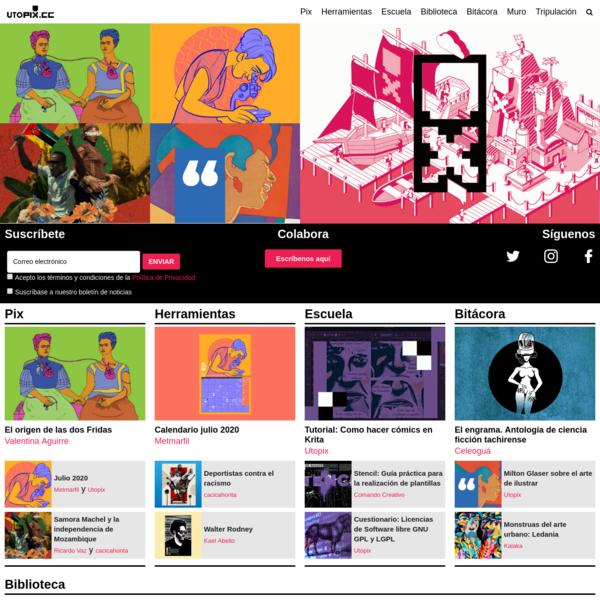 Utopix - Comunicación visual alternativa para el post-capitalismo