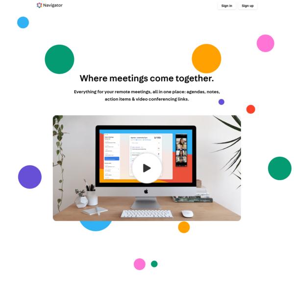 Navigator | Meeting Workspaces