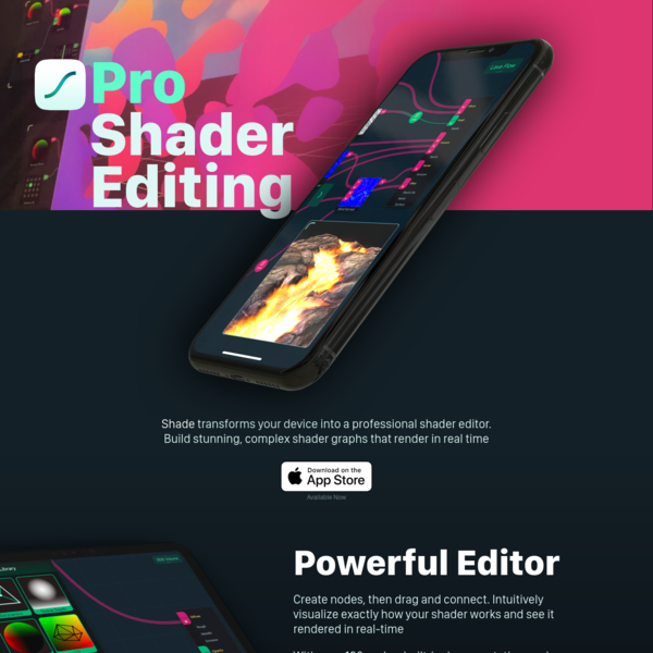 Pro Shader Editing