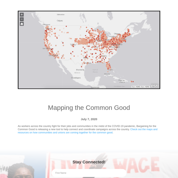 Mapping the Common Good | Bargaining for the Common Good