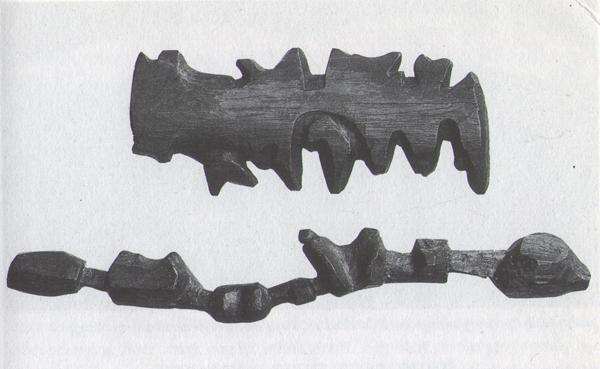Inuit tactile map carvings