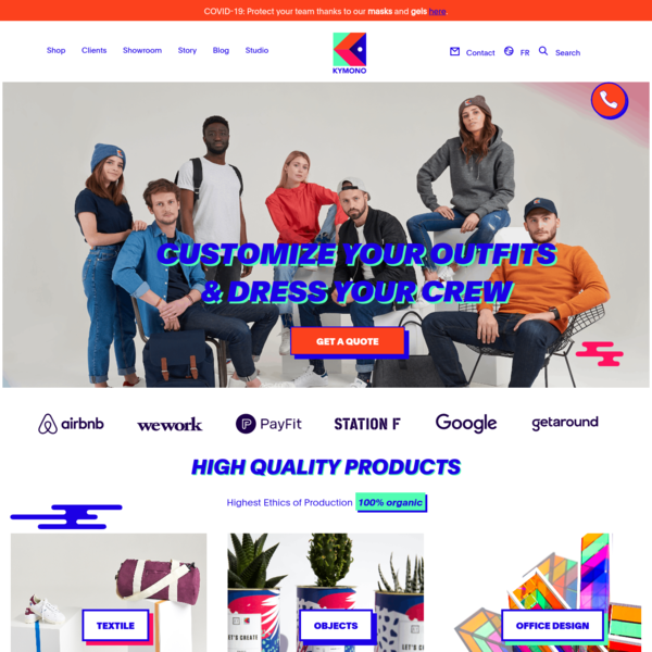 Kymono - Customized Outfits, Objects and Office Design