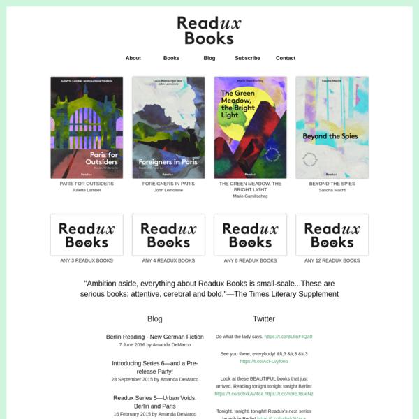 Readux Books