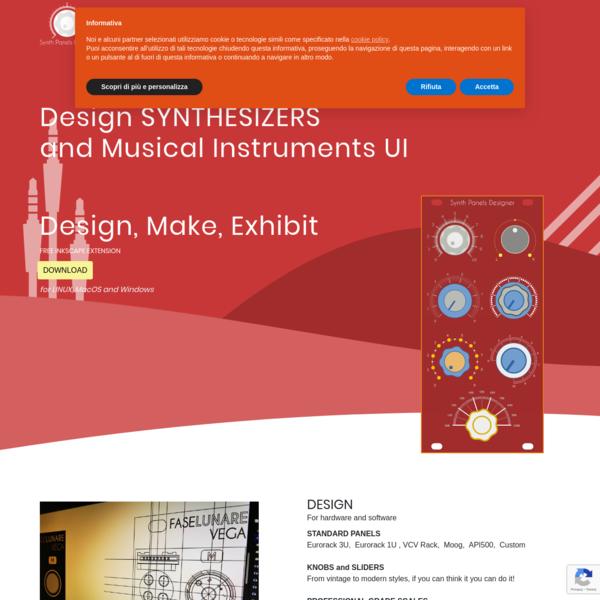Synth Panels Designer
